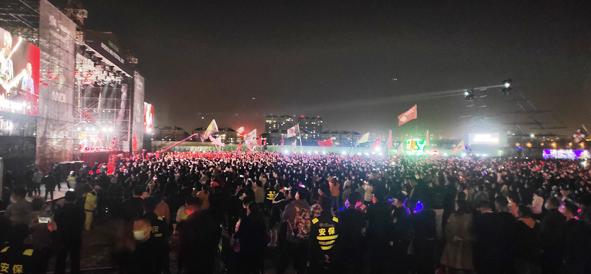 """滨州金盾圆满完成""""2021滨州迷笛音乐节""""安保任务"""